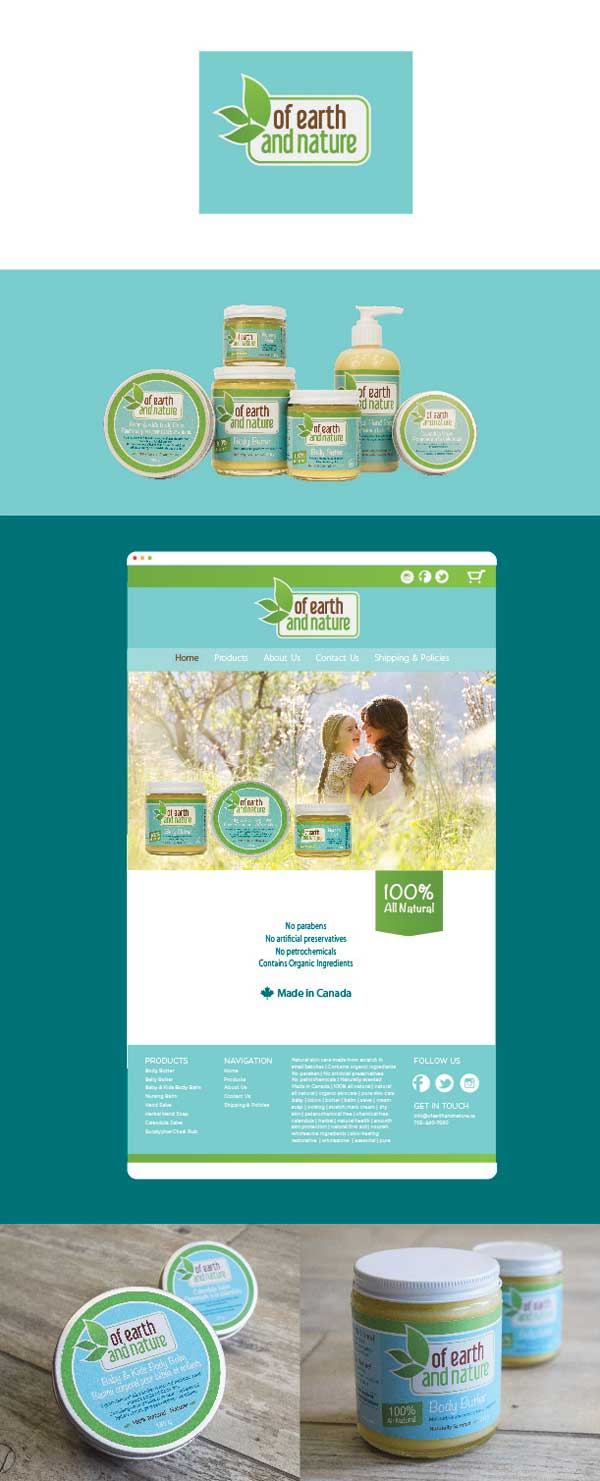 Package design Website Design Graphic Design Barrie Ontario